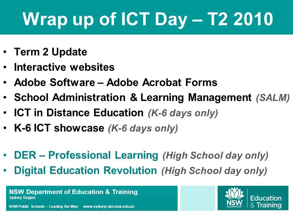 NSW Department of Education & Training Sydney Region NSW Public Schools – Leading the Way www.sydneyr.det.nsw.edu.au Old Spice