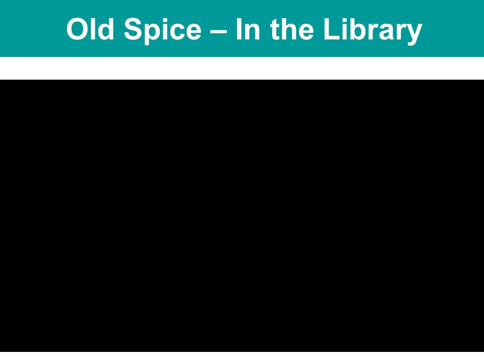NSW Department of Education & Training Sydney Region NSW Public Schools – Leading the Way www.sydneyr.det.nsw.edu.au Old Spice – In the Library