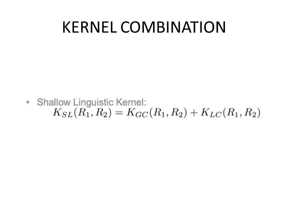 KERNEL COMBINATION