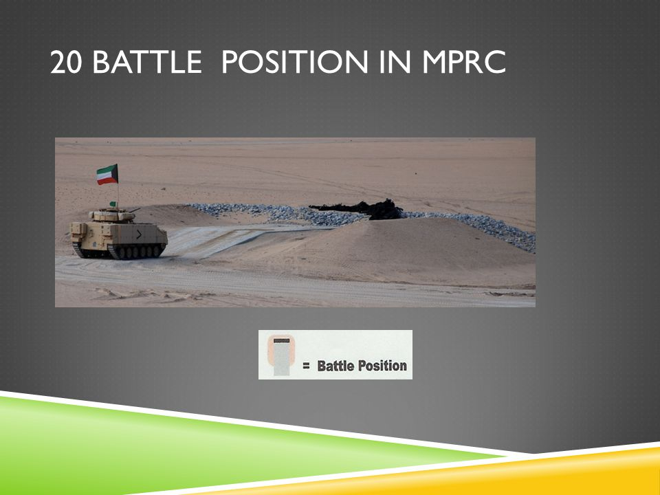 20 BATTLE POSITION IN MPRC
