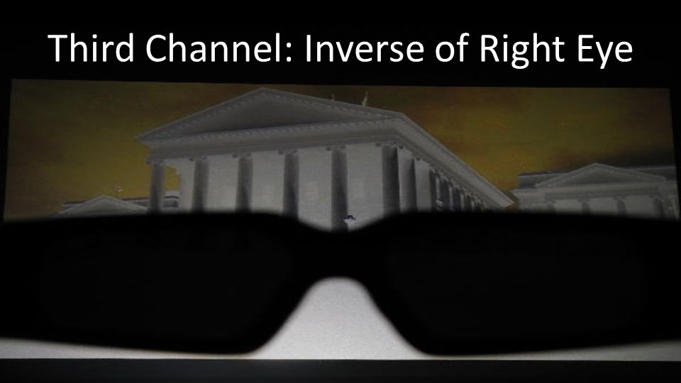Third Channel: Inverse of Right Eye