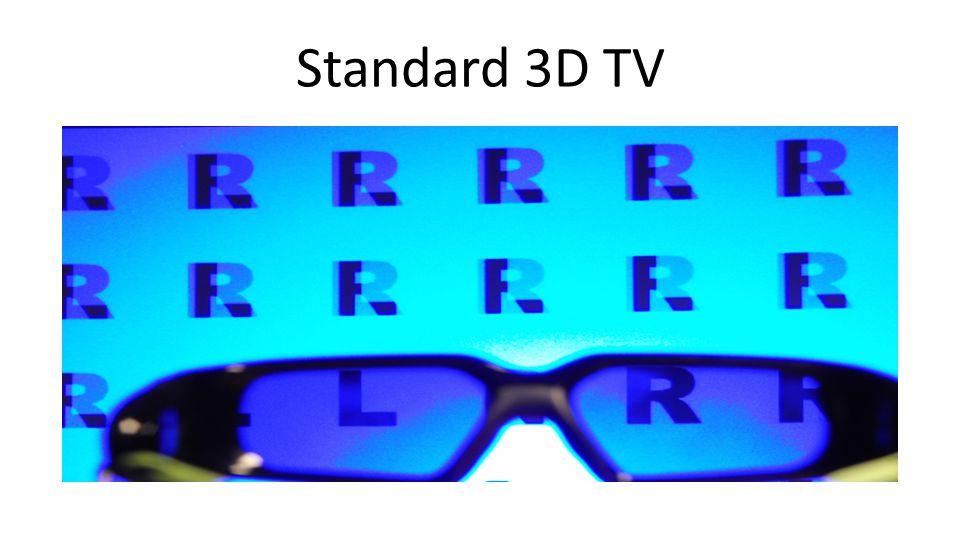 3D+2DTV Prototype