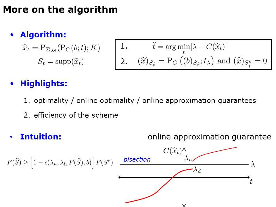 Algorithm: 1. 2.