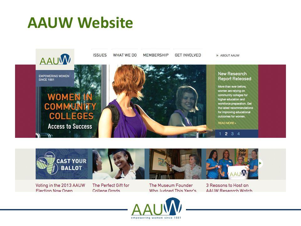 AAUW Website