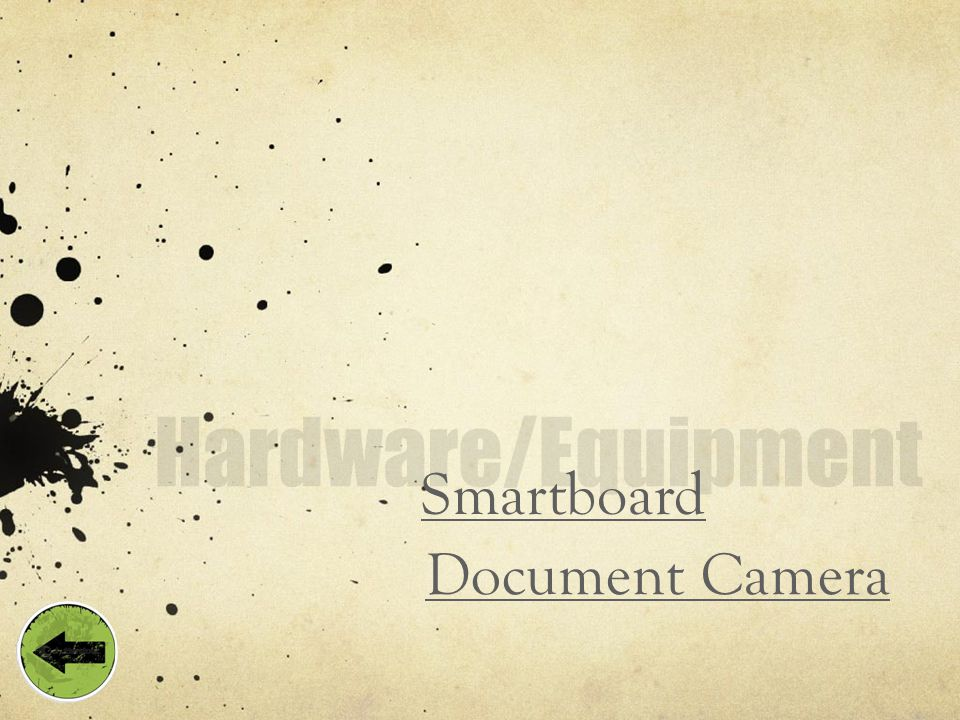 Smartboard Document Camera