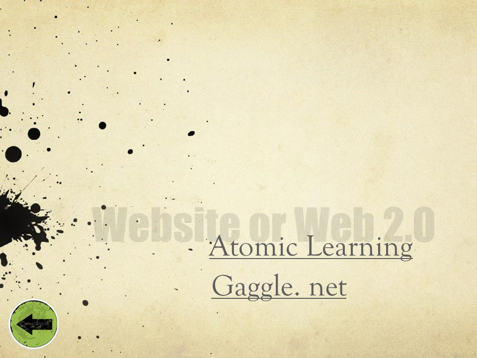 Atomic Learning Gaggle. net