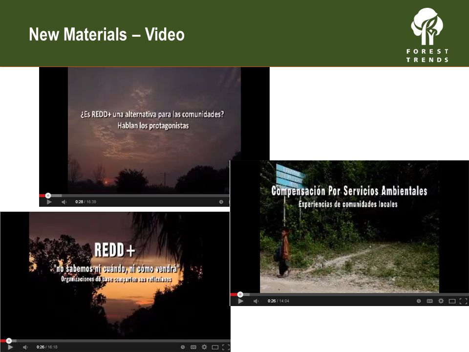 Video New Materials – Video