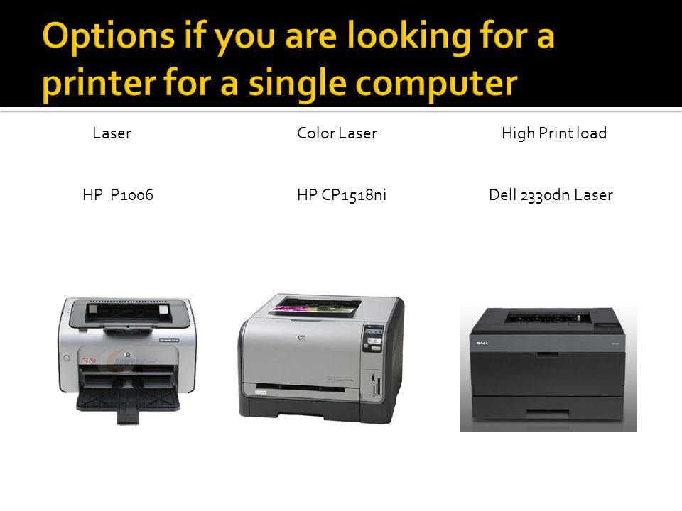LaserColor LaserHigh Print load HP P1006 HP CP1518ni Dell 2330dn Laser