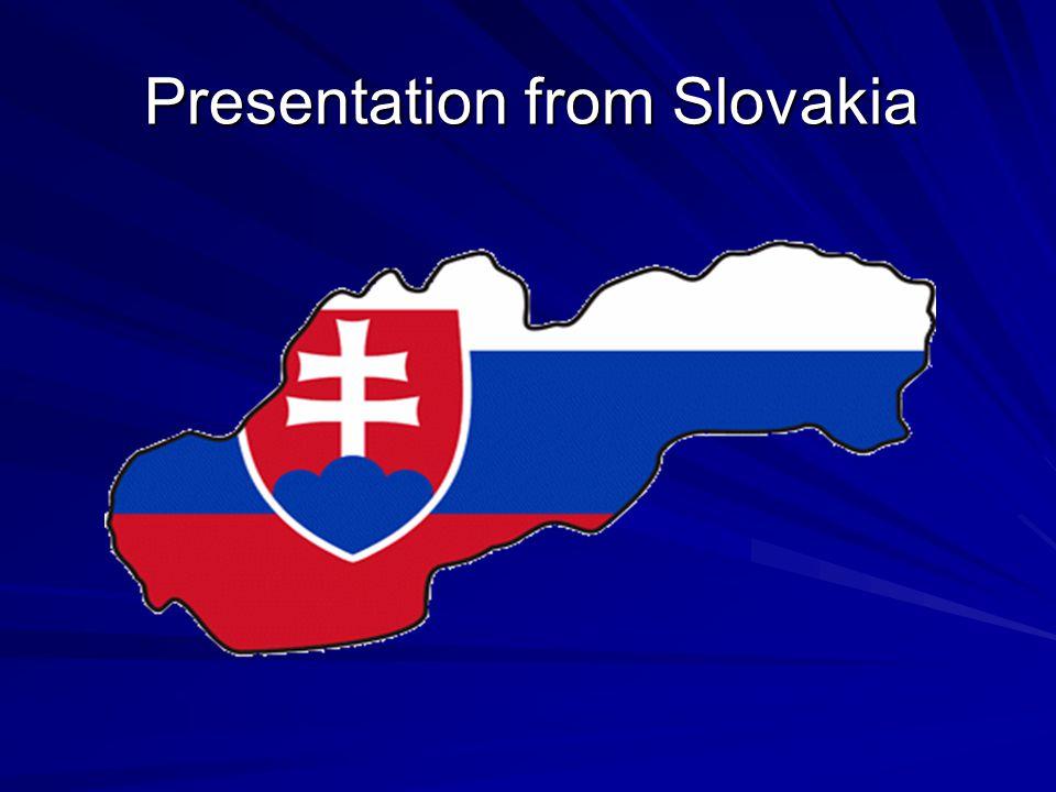 Presentation from Slovakia
