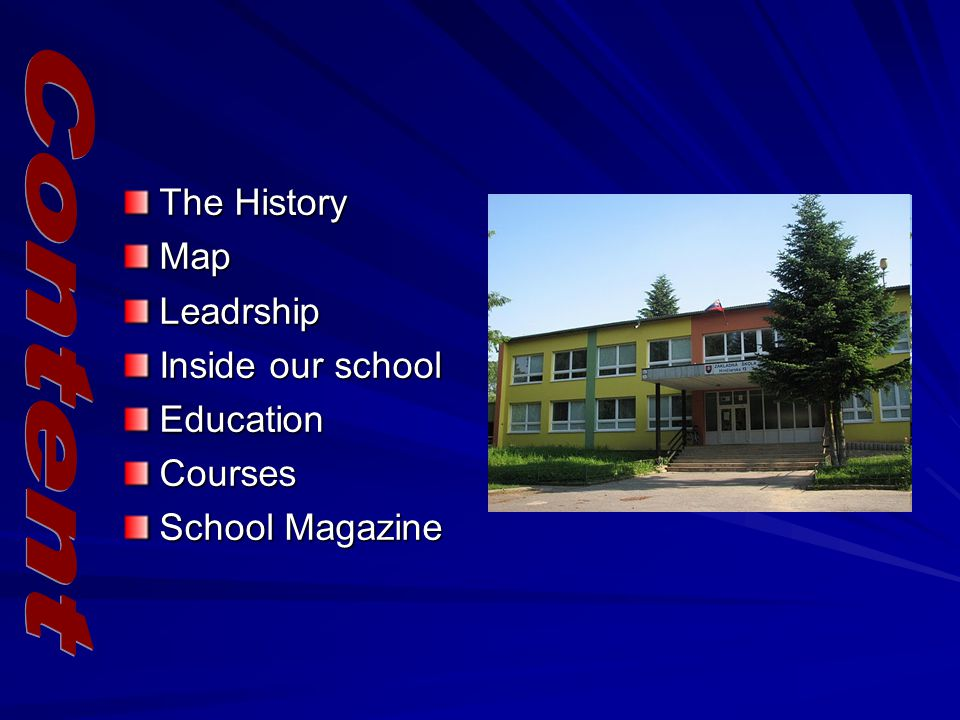 The History Map Leadrship Inside our school Education Courses School Magazine
