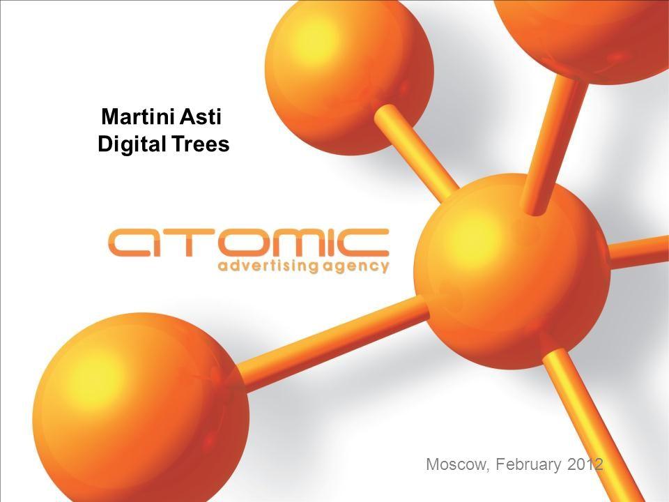 Martini Asti Digital Trees Moscow, February 2012