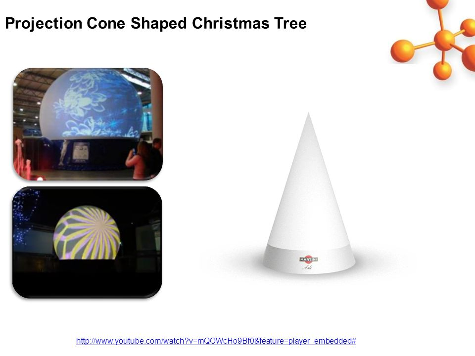 Projection Cone Shaped Christmas Tree http://www.youtube.com/watch v=mQOWcHo9Bf0&feature=player_embedded#