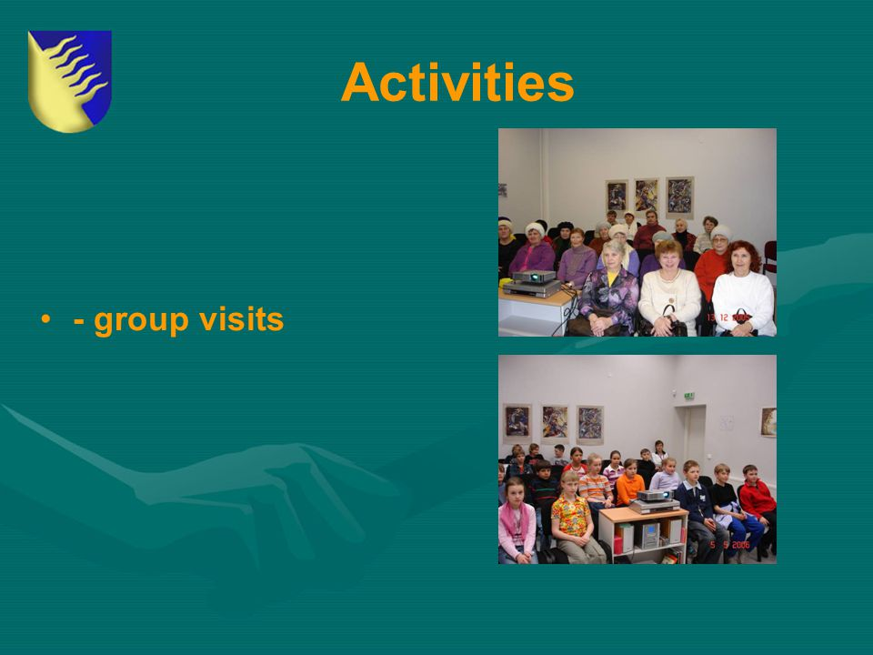 Activities - group visits