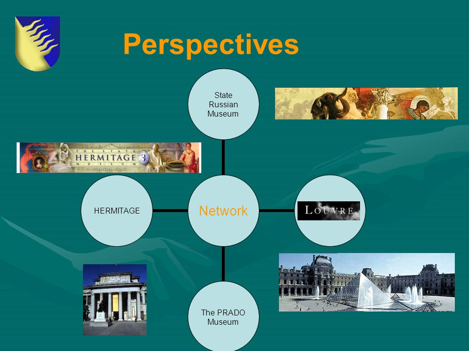Perspectives Network State Russian Museum LOUVRE The PRADO Museum HERMITAGE