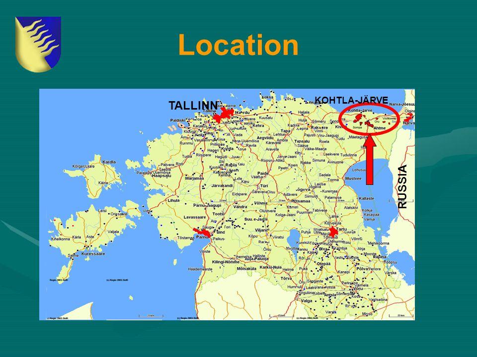 Location RUSSIA TALLINN KOHTLA-JÄRVE