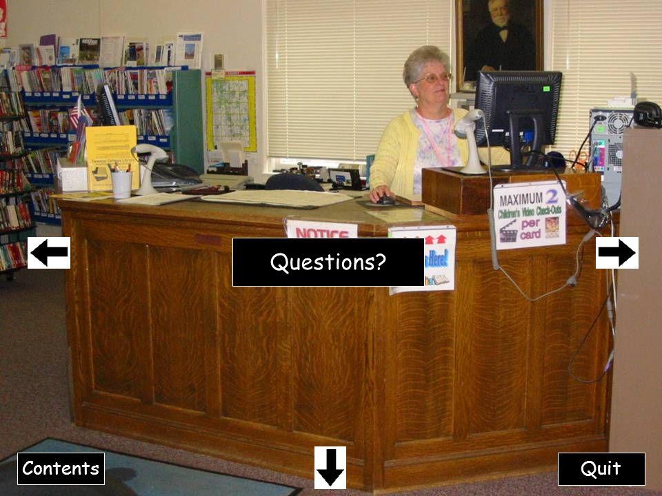 Questions Contents Quit