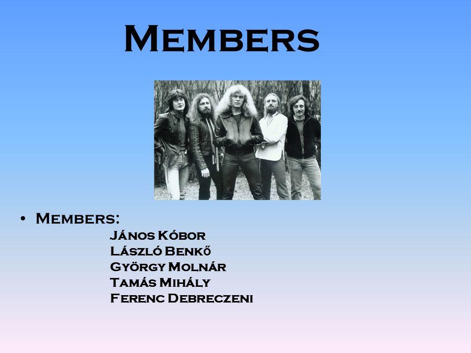 Members Members: János Kóbor László Benk ő György Molnár Tamás Mihály Ferenc Debreczeni