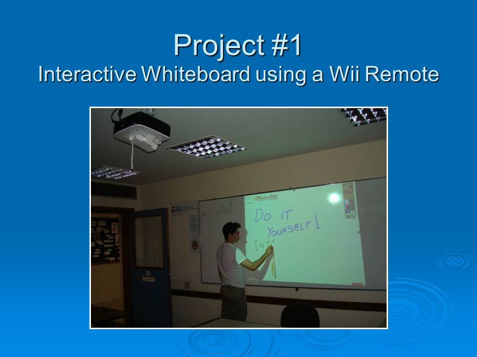 Project #2 Multi-Touch Tablet Alternatives