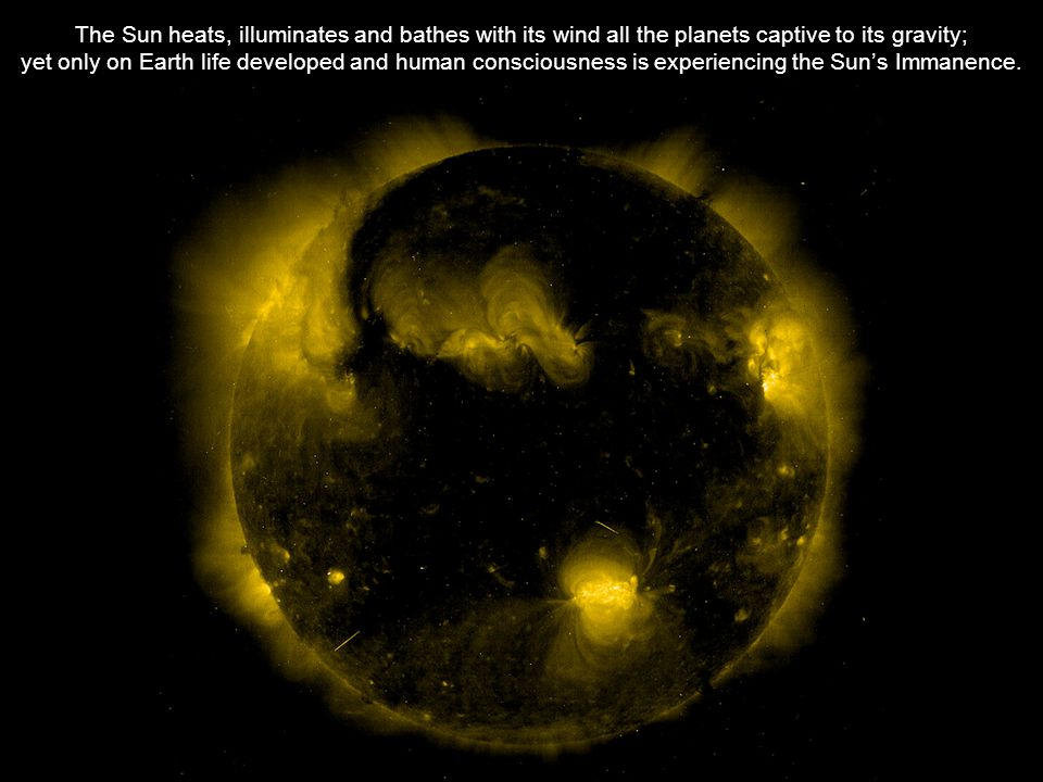 Credits: PowerPoint presentation and photographs of the installation's model: Athena Tacha Photographs of the Sun in extreme UV: Jean-Francois Hochedez Sound-track samples: Joshua Fried Sources of other photographs of the Sun: NASA TRACE SXT/Yohkoh