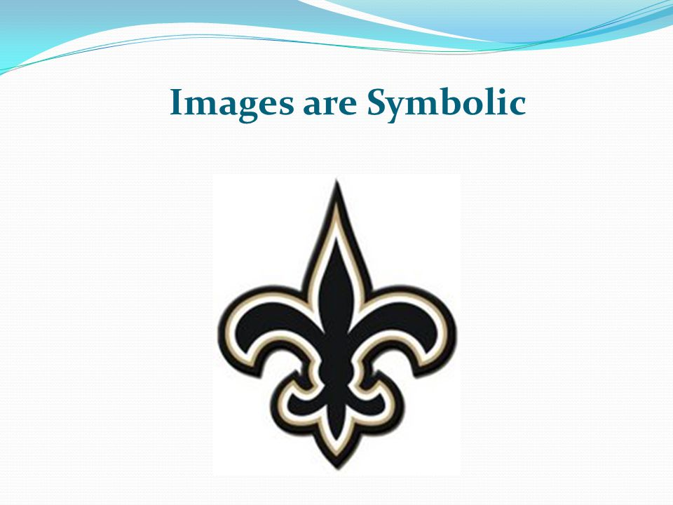 Images are Symbolic