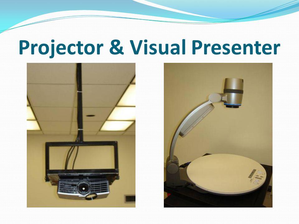 Projector & Visual Presenter
