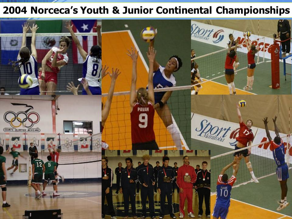 2004 Norceca's Youth & Junior Continental Championships