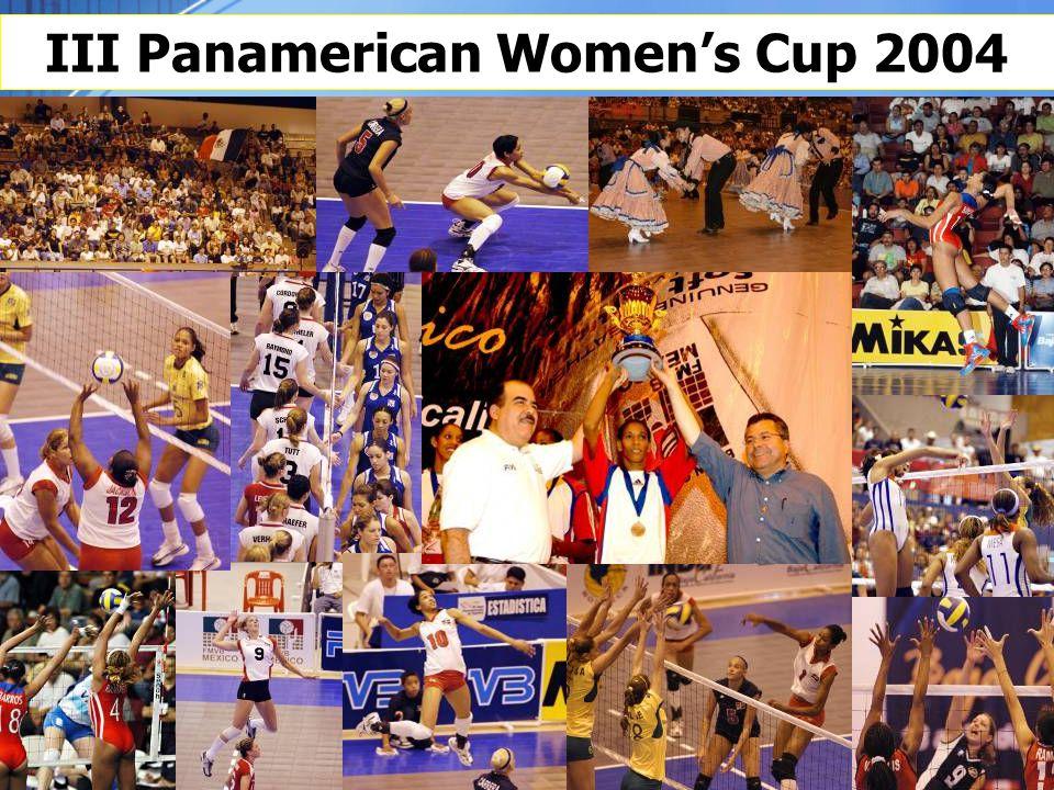 III Panamerican Women's Cup 2004