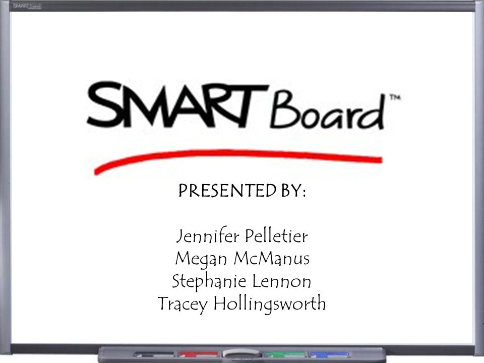 WHAT IS .A SMART Board is an electronic whiteboard used in conjunction with a projector.