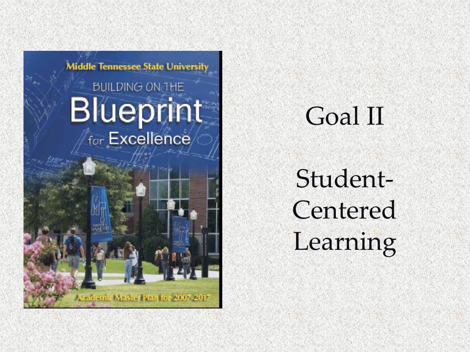 Goal II Student- Centered Learning