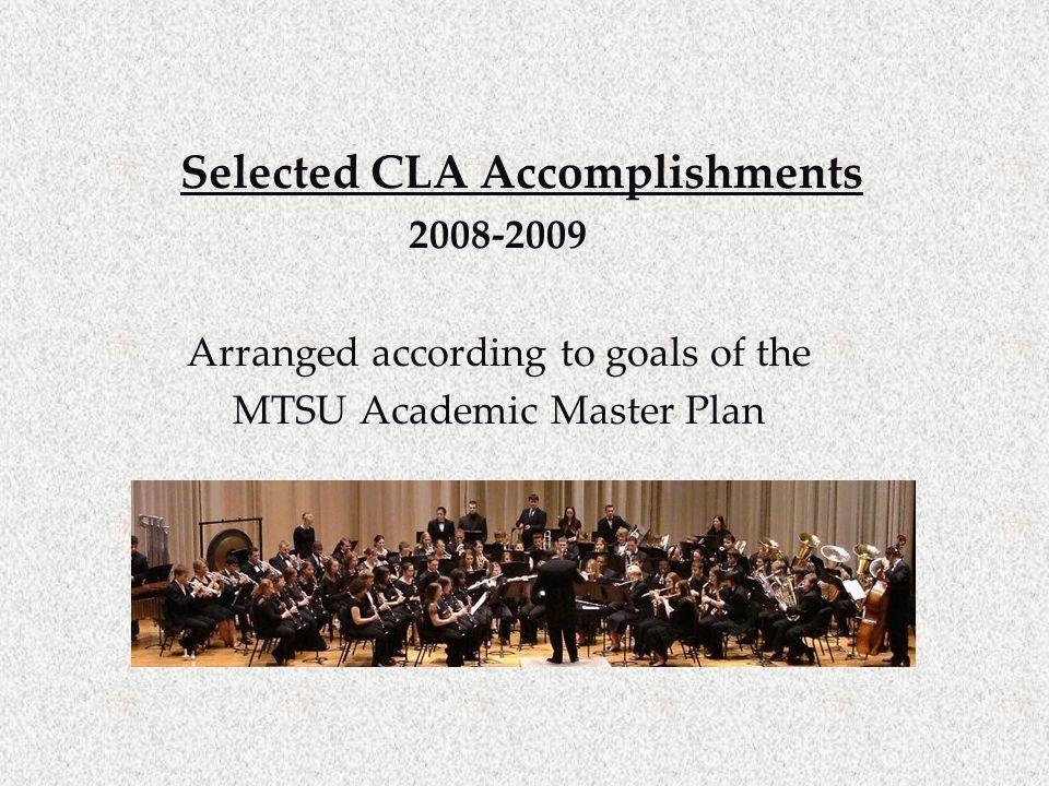 Goal I Academic Quality