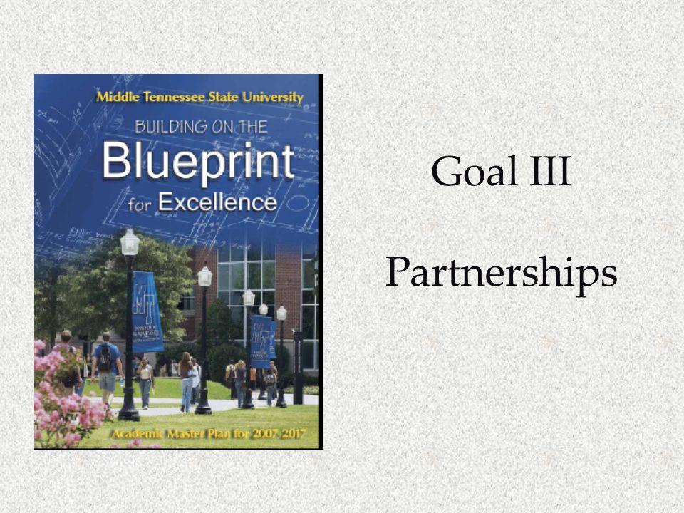 Goal III Partnerships