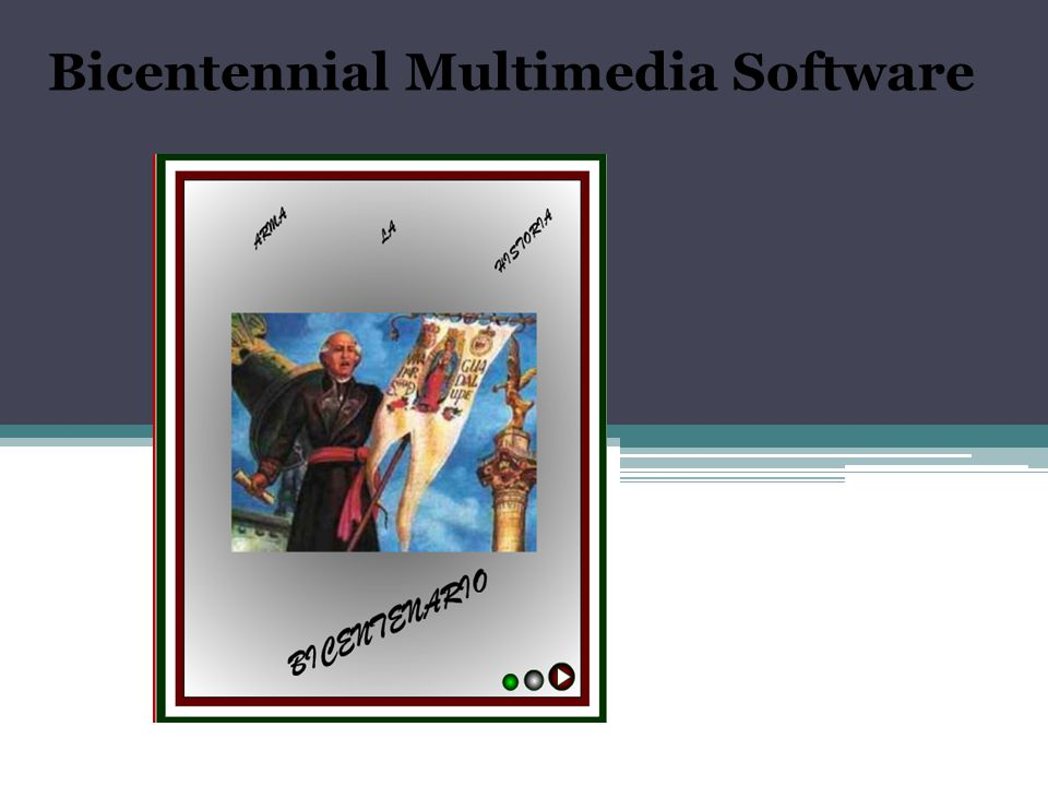 Bicentennial Multimedia Software