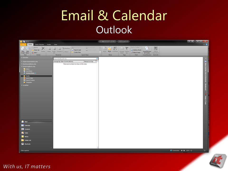 Email & Calendar Outlook