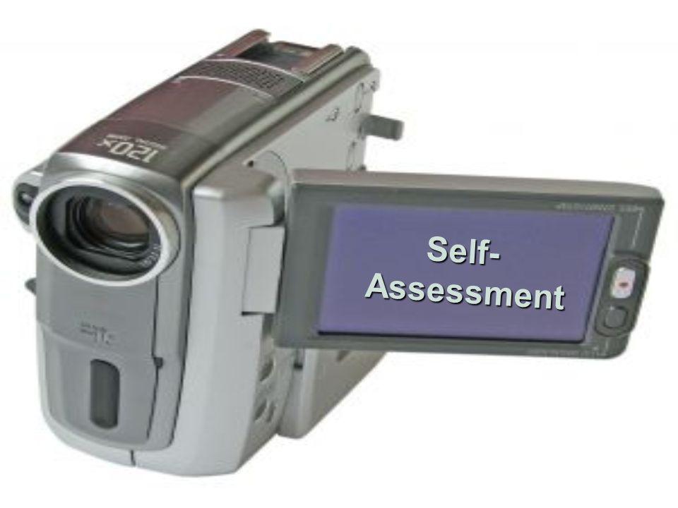 Self- Assessment Assessment
