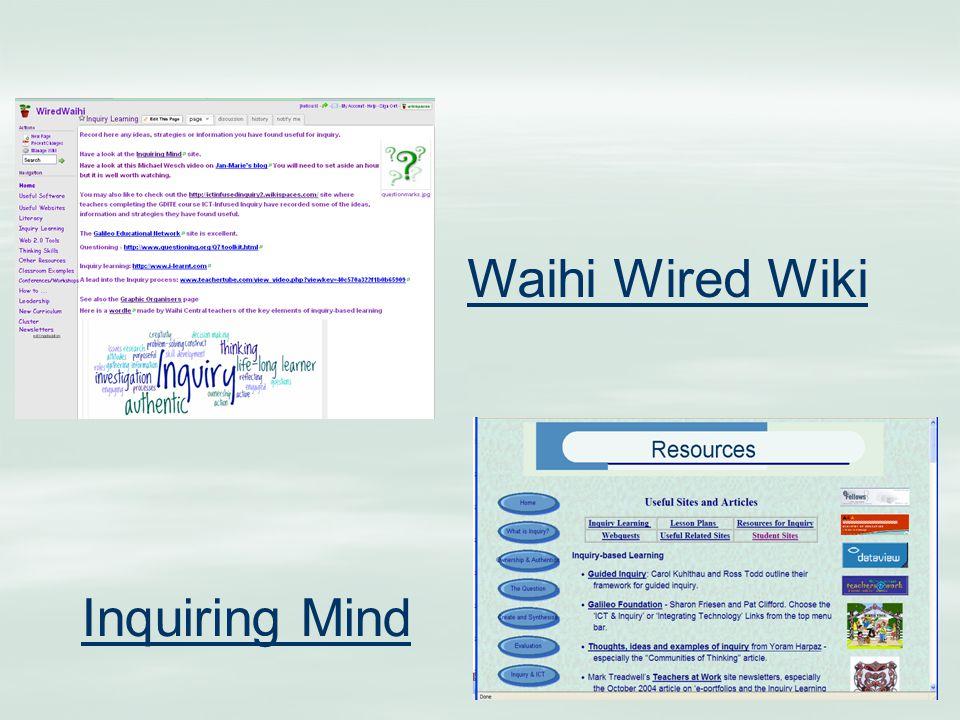 Inquiring Mind Waihi Wired Wiki