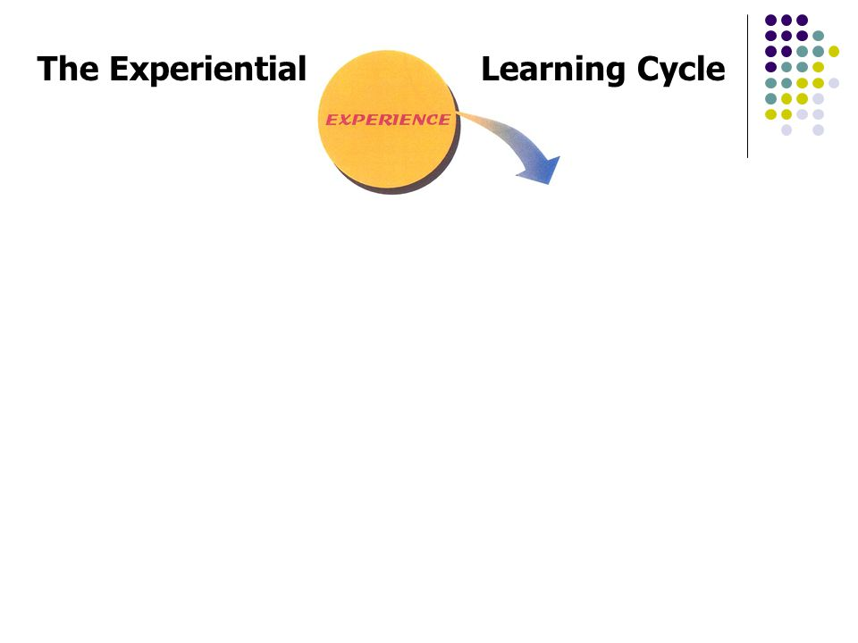 The ExperientialLearning Cycle