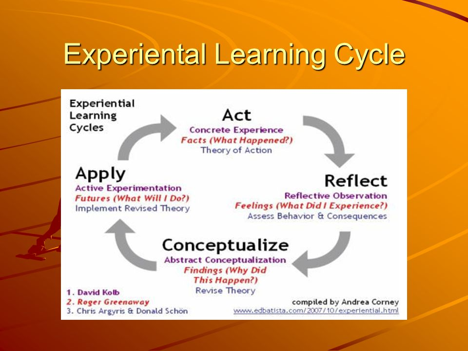Experiental Learning Cycle