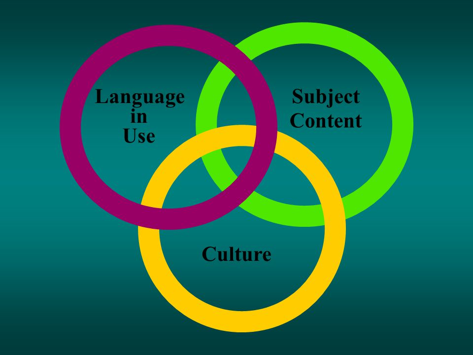 Language in Use Subject Content Culture