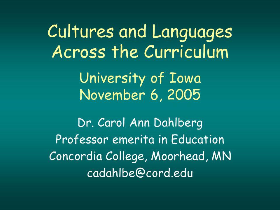 Language in Use Subject Content Culture Connections Cultures Communication Comparisons
