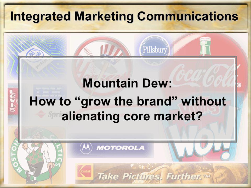 Integrated Marketing Communications Answer: