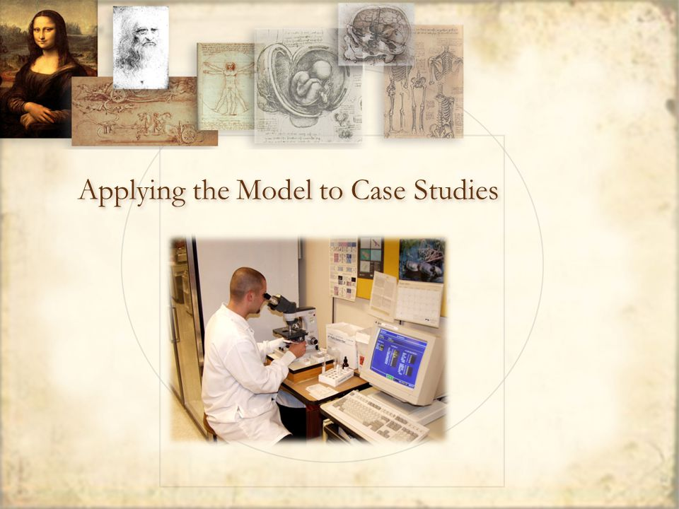 Applying the Model to Case Studies