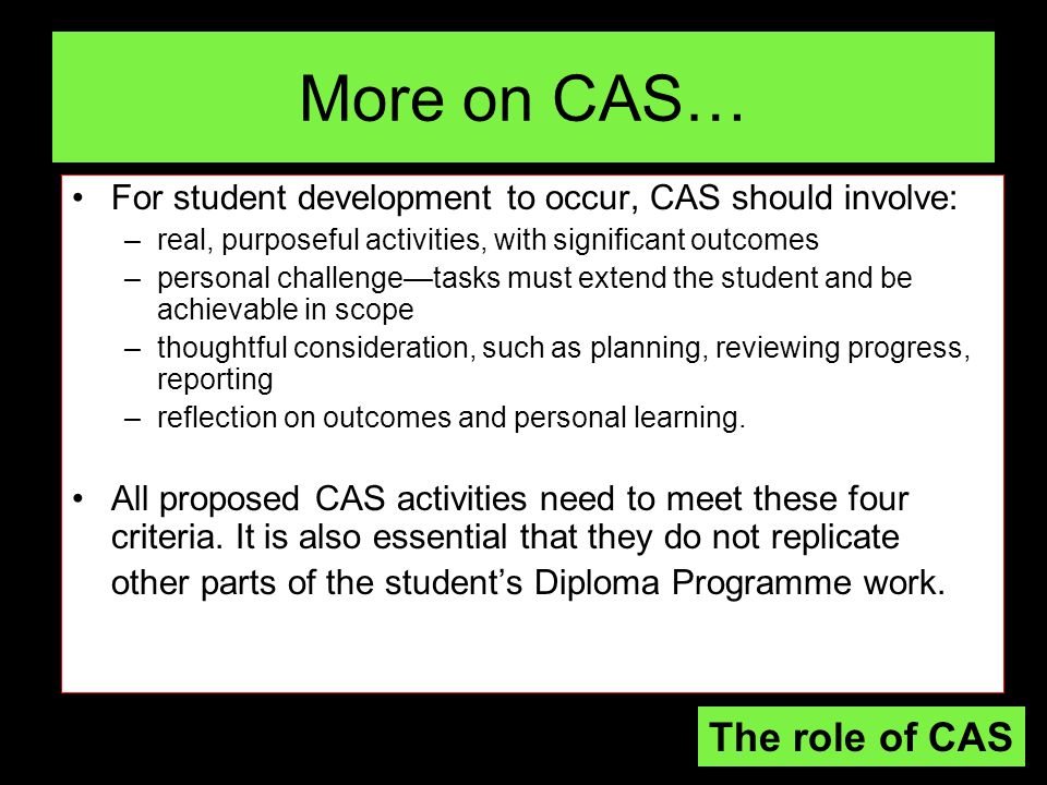 Reflection on Reflections All of the examples offered on the previous slide promote the idea that after the primary student experience there should be a secondary experience (Peter Jarvis).