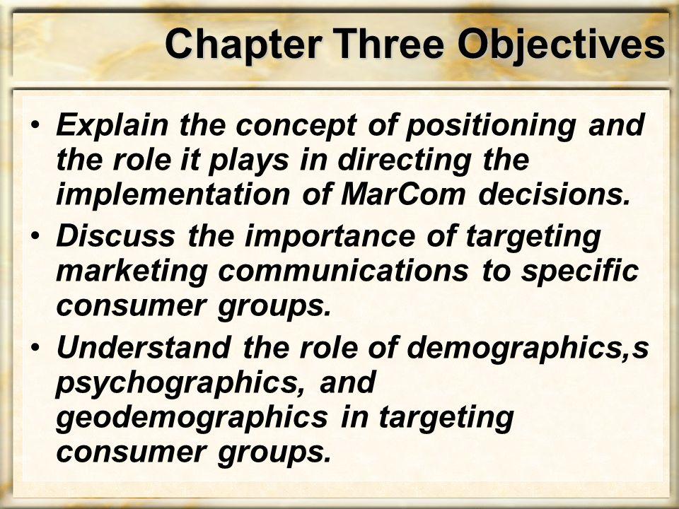Demographic Targeting Ethnic targeting