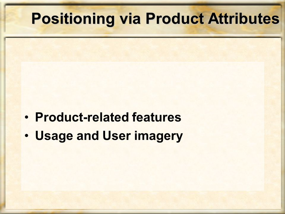 Positioning via Usage Imagery