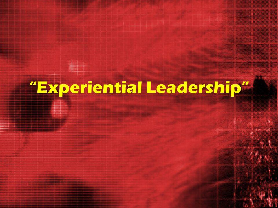Experiential Leadership