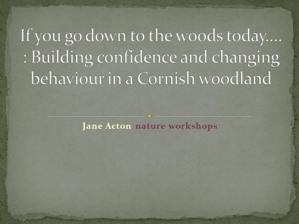 Jane Acton nature workshops