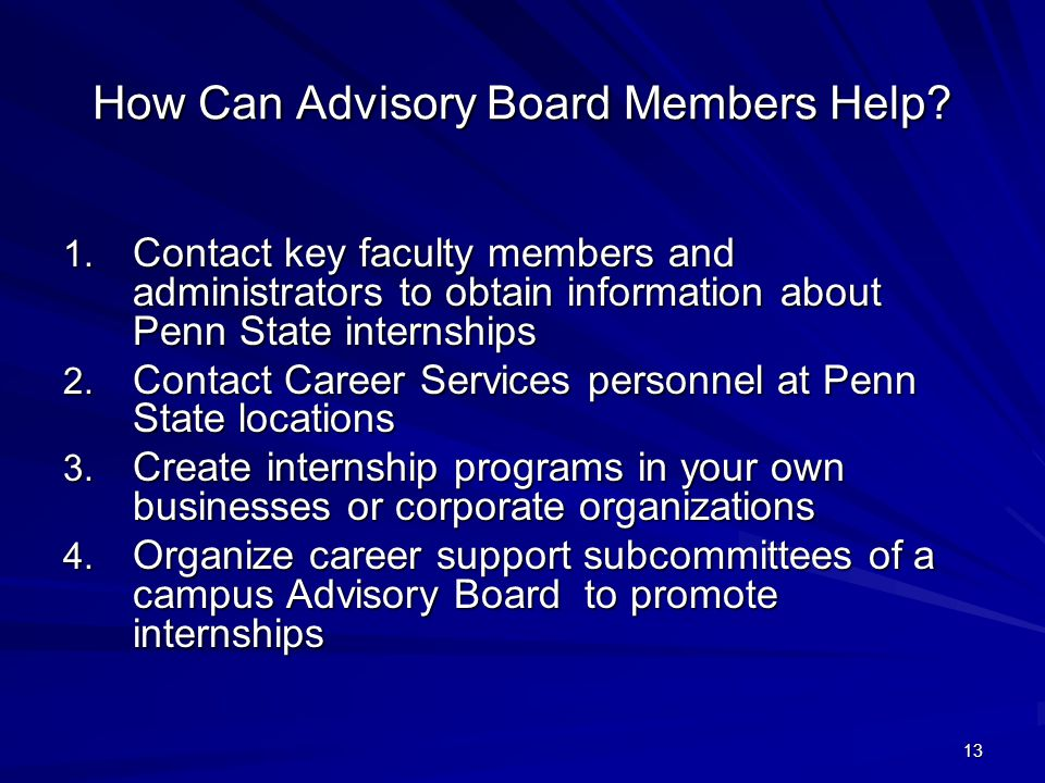 13 How Can Advisory Board Members Help.1.