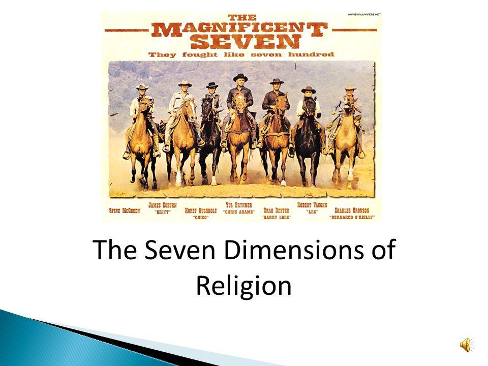 The Seven Dimensions of Religion