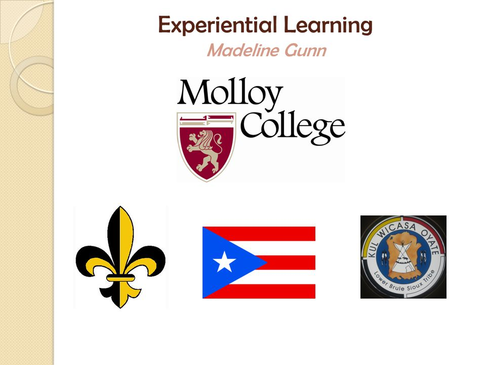 Experiential Learning Madeline Gunn