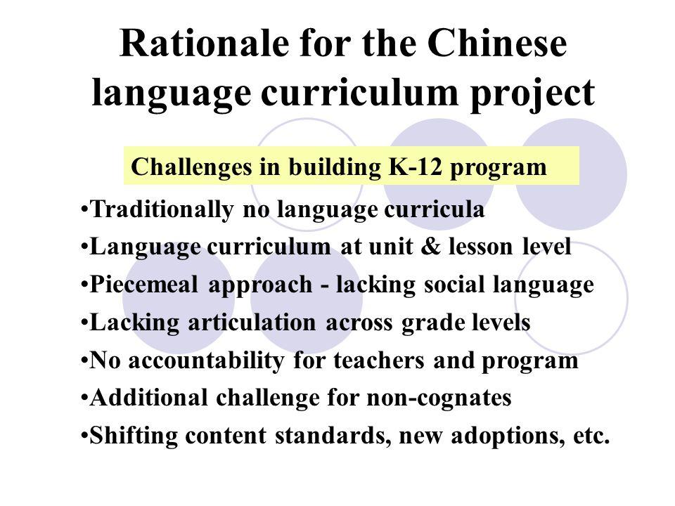 Collaborative Projects K-16 Language Curriculum Framework Assessment